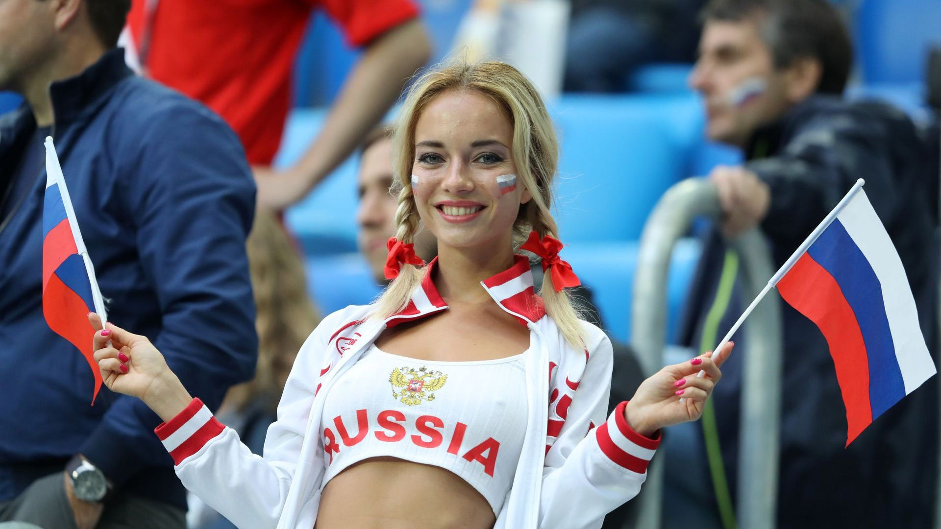 Атрактивна и популярна руска фенка от Мондиала се оказа порнозвезда