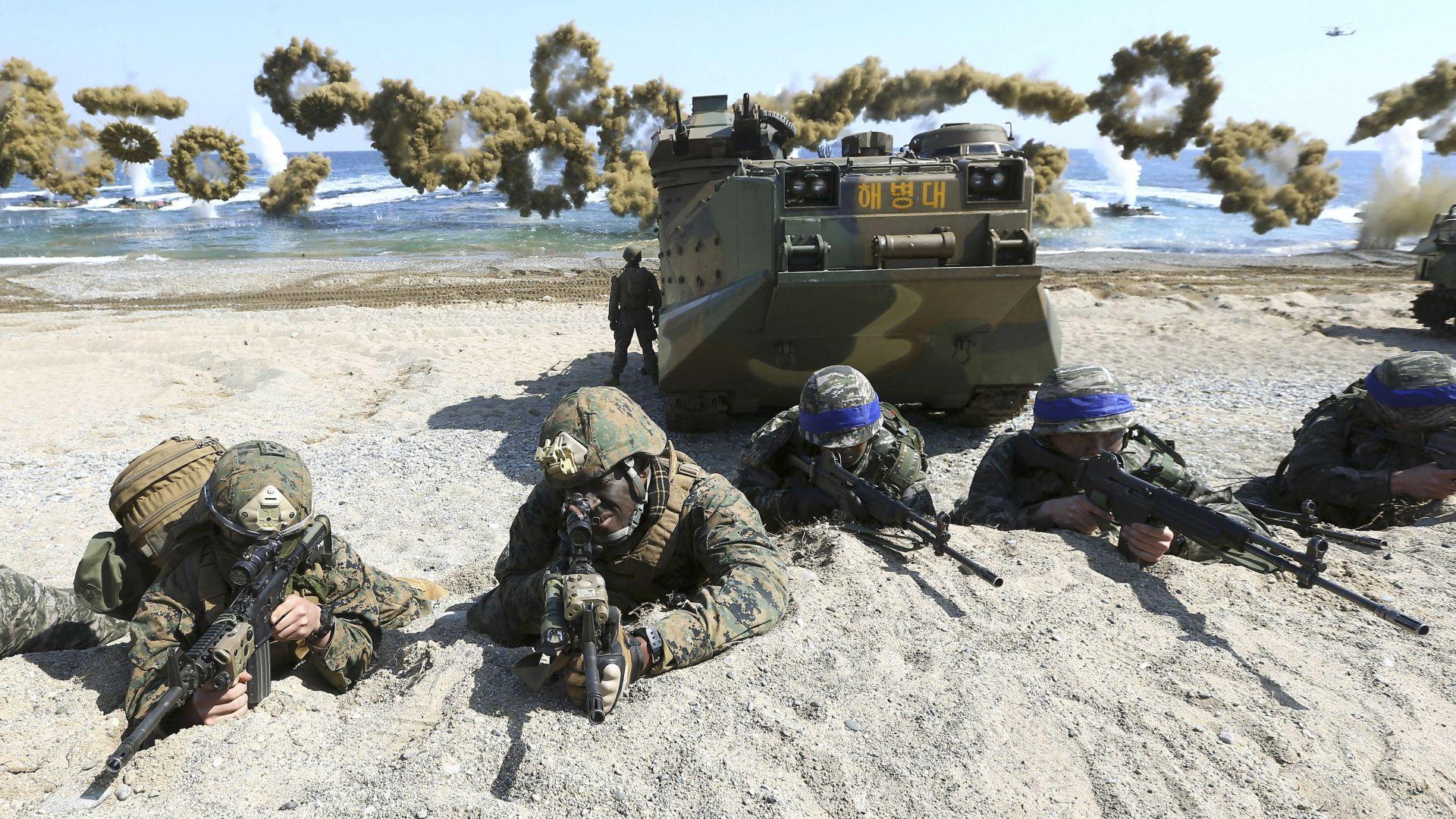 Южна Корея ще плаща повече за войските на САЩ