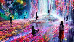 """""""Изкуство без граници"""" - новата дигитална гордост на Токио"""