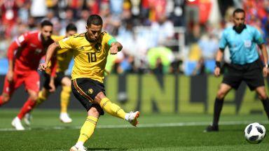 Белгия - Тунис 5:2 (статистика)