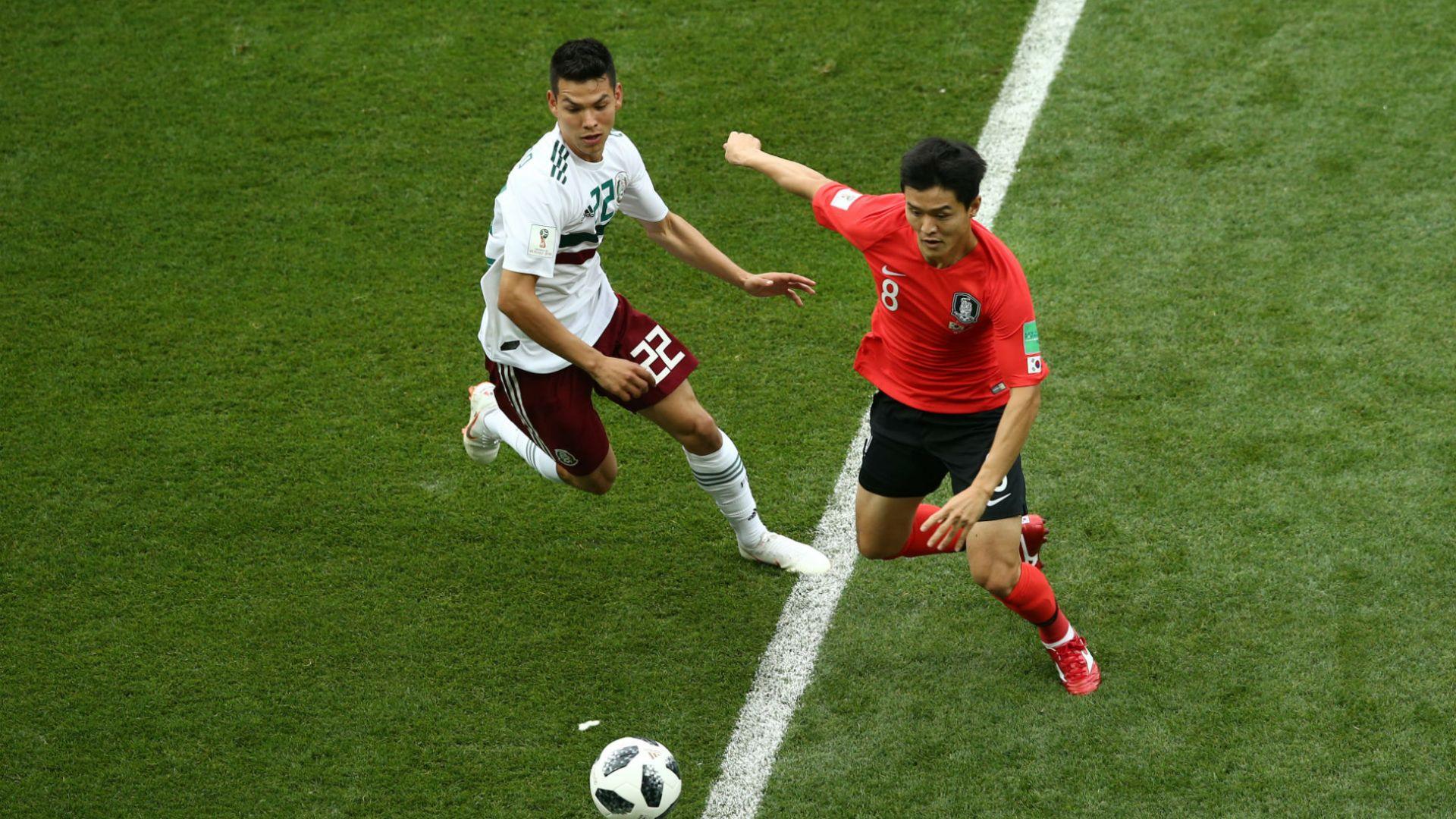 Мексико - Южна Корея 2:1 (статистика)