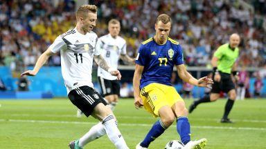 Германия - Швеция 2:1 (статистики)