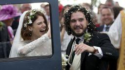 """""""Игра на тронове"""": Кит Харингтън и Роуз Лесли се ожениха (снимки)"""