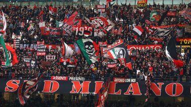 Фен на Милан бе наръган в спор за футболна фланелка