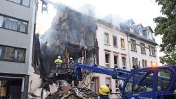 Над 20 души ранени при експлозия в сграда в Германия (видео)