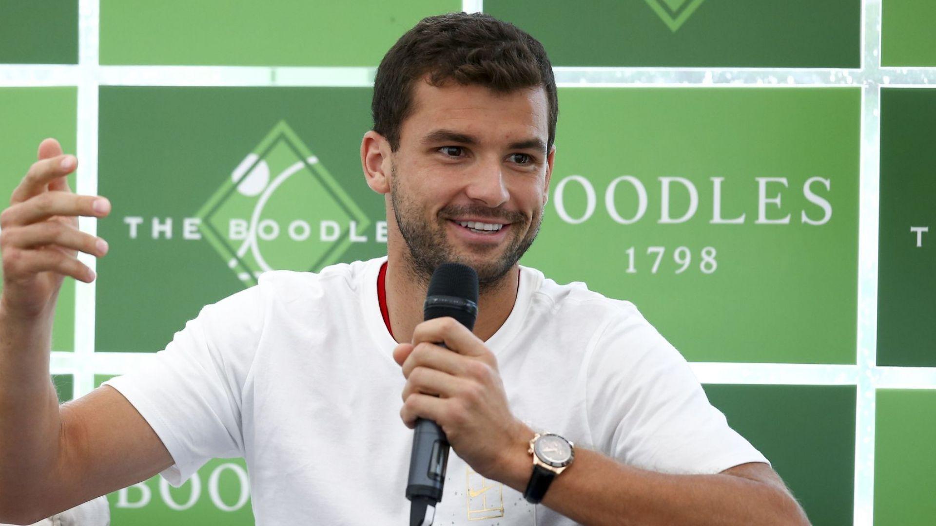 Григор смята, че е най-бързият тенисист (видео)
