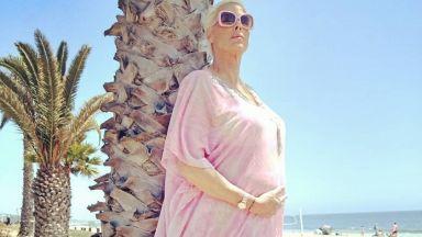Бригите Нилсен (54) роди петото си дете