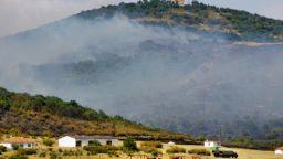 Ликвидираха пожара на Бакаджика край Ямбол