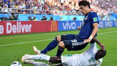 Япония - Сенегал 2:2 (статистика)
