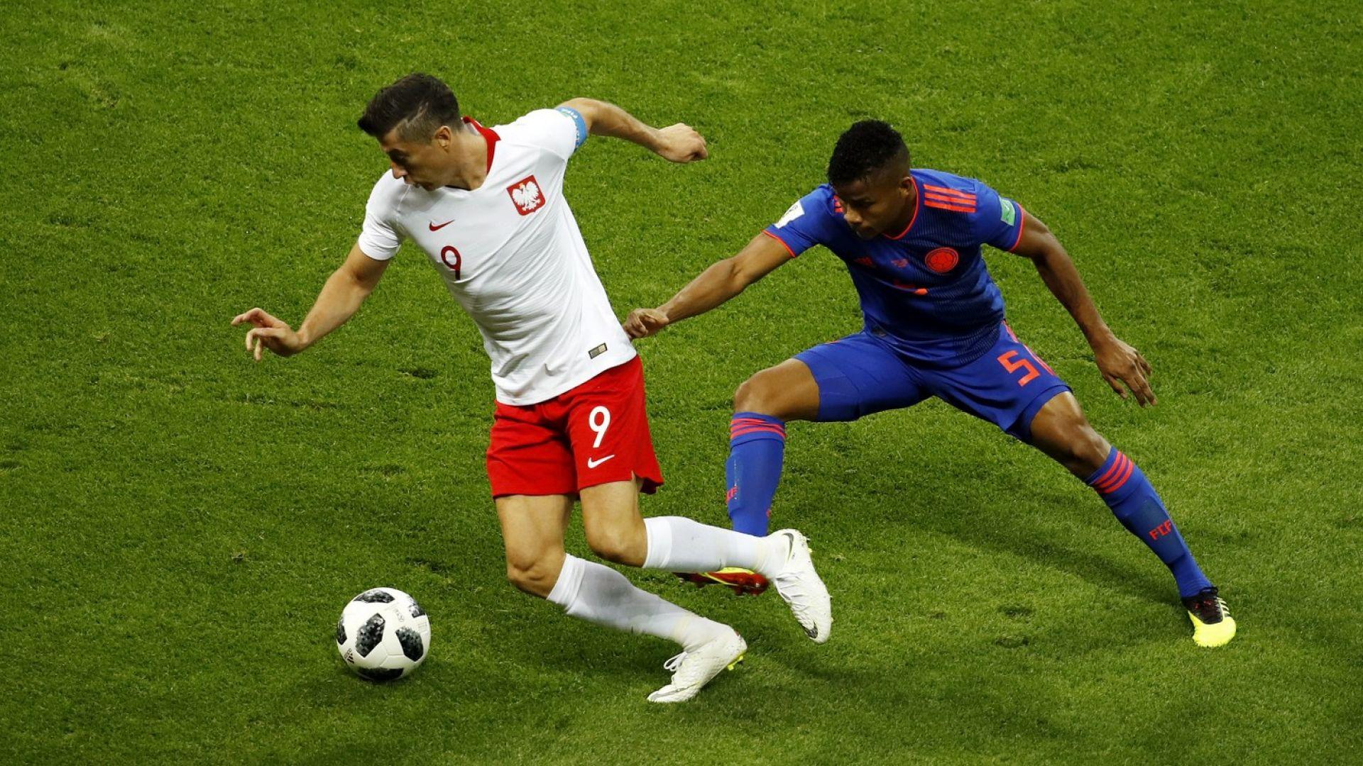 Полша - Колумбия 0:3 (статистика)