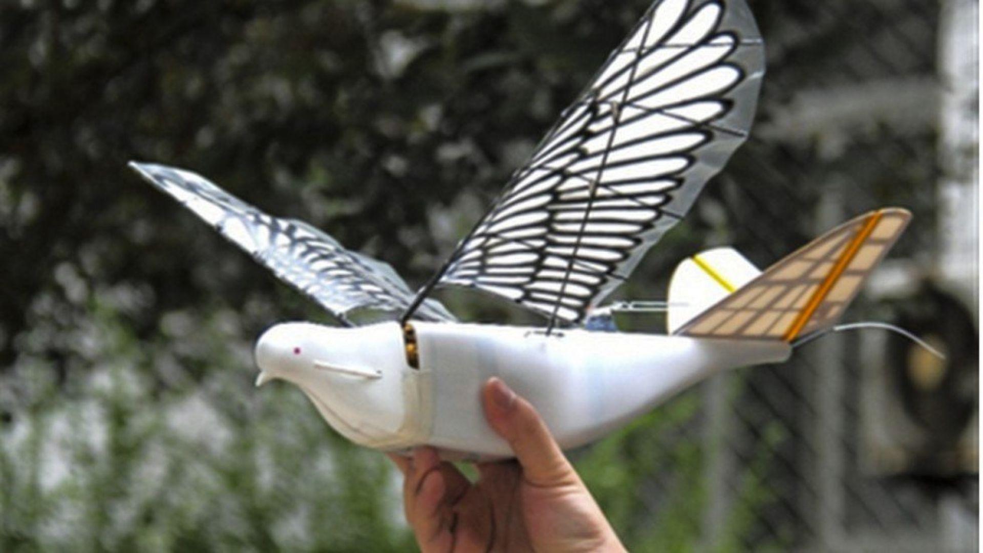 Китай следи с маскирани като птици дронове