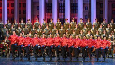 "Световноизвестният руски хор ""Александров"" пристигна у нас"