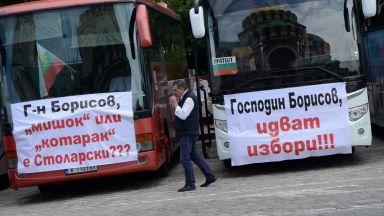 Намеса на Борисов спря протестите на автобусните превозвачи. Изтеглят спорния закон
