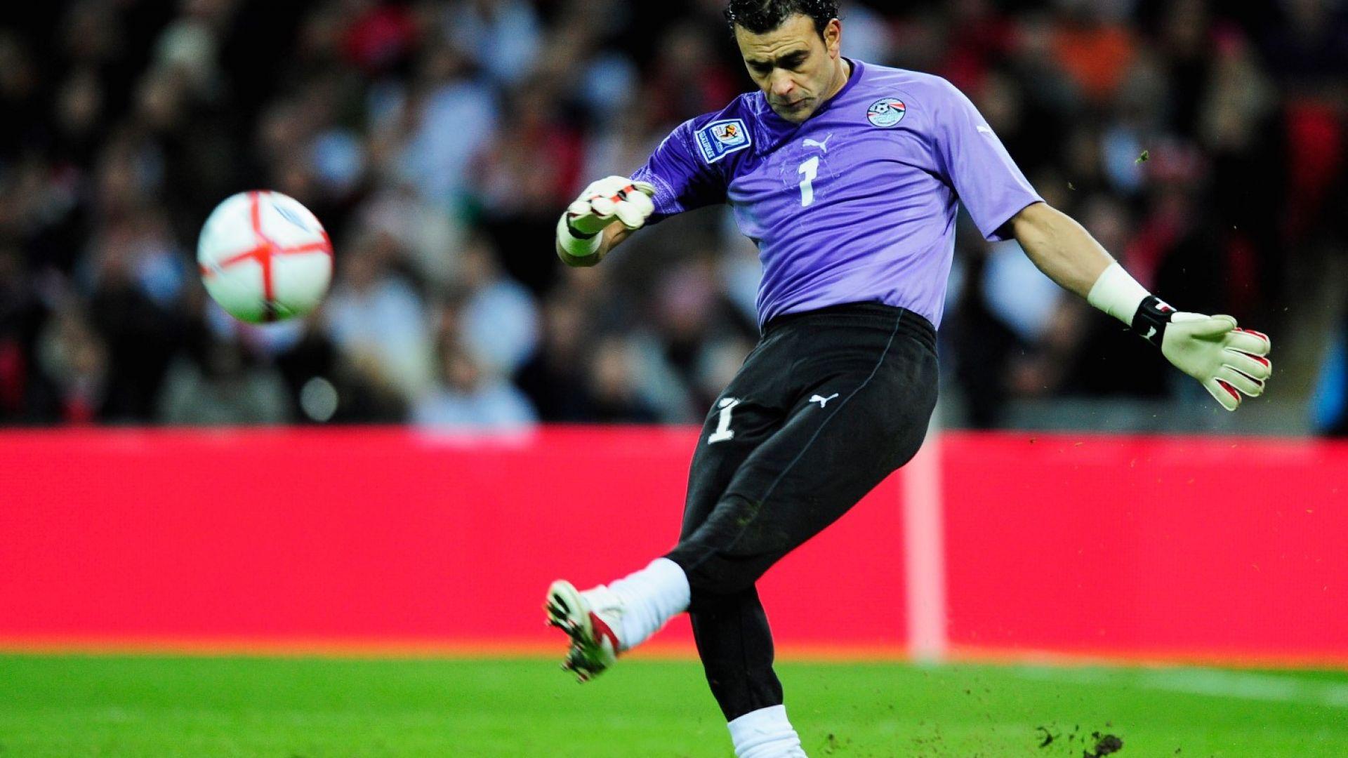 45-годишният вратар на Египет счупи рекорд