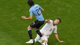 Уругвай - Русия 3:0 (статистика)