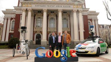 Гугъл снима отново 47 града в България