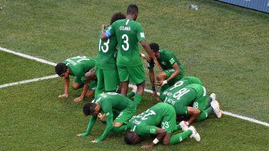 Саудитска Арабия би Салах и компания с последния удар