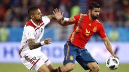 Испания - Мароко 2:2 (статистика)
