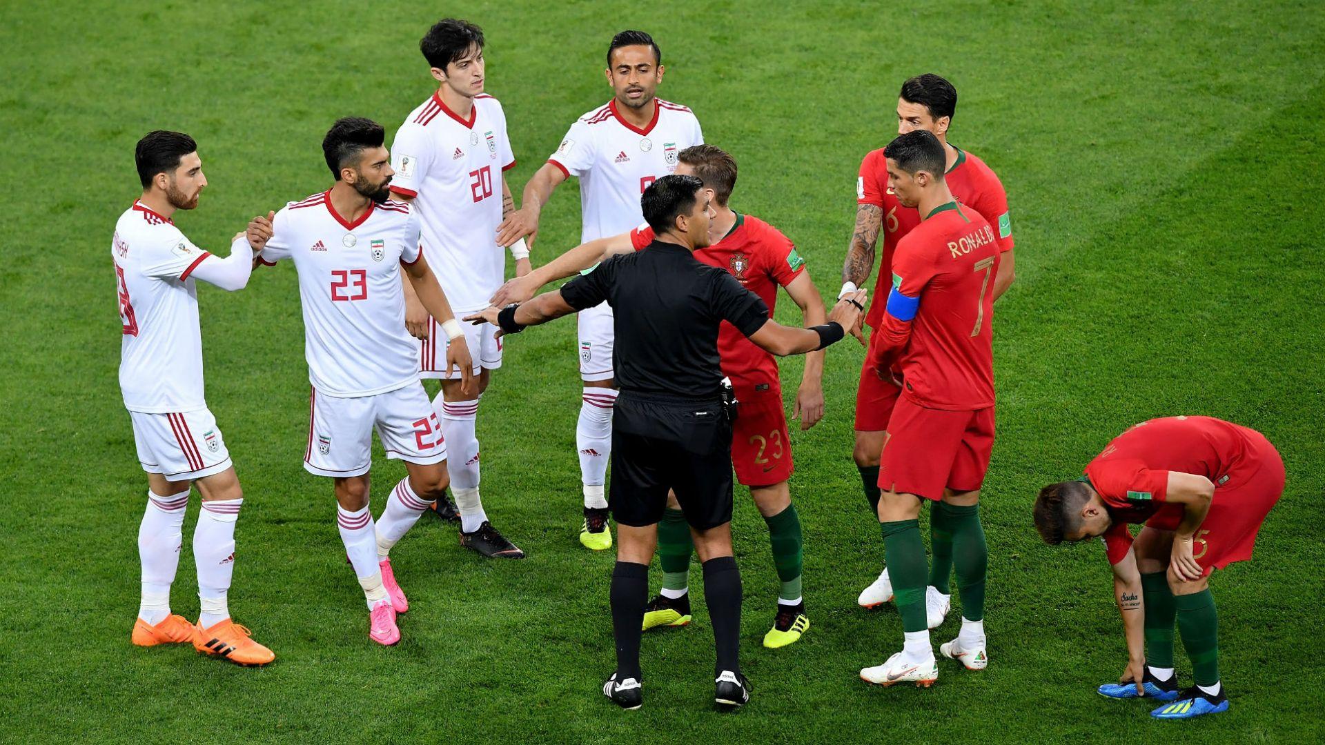 Португалия - Иран 1:1 (статистика)