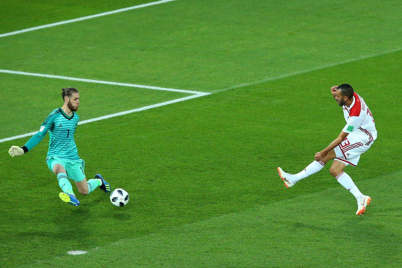 """Давид де Хеа (Испания) - статистиките бяха доста конфузни - спаси общо 2 удара на цялото първенство. Допусна грешки, каквито не прави в клуба си """"Манчестър Юнайтед""""."""