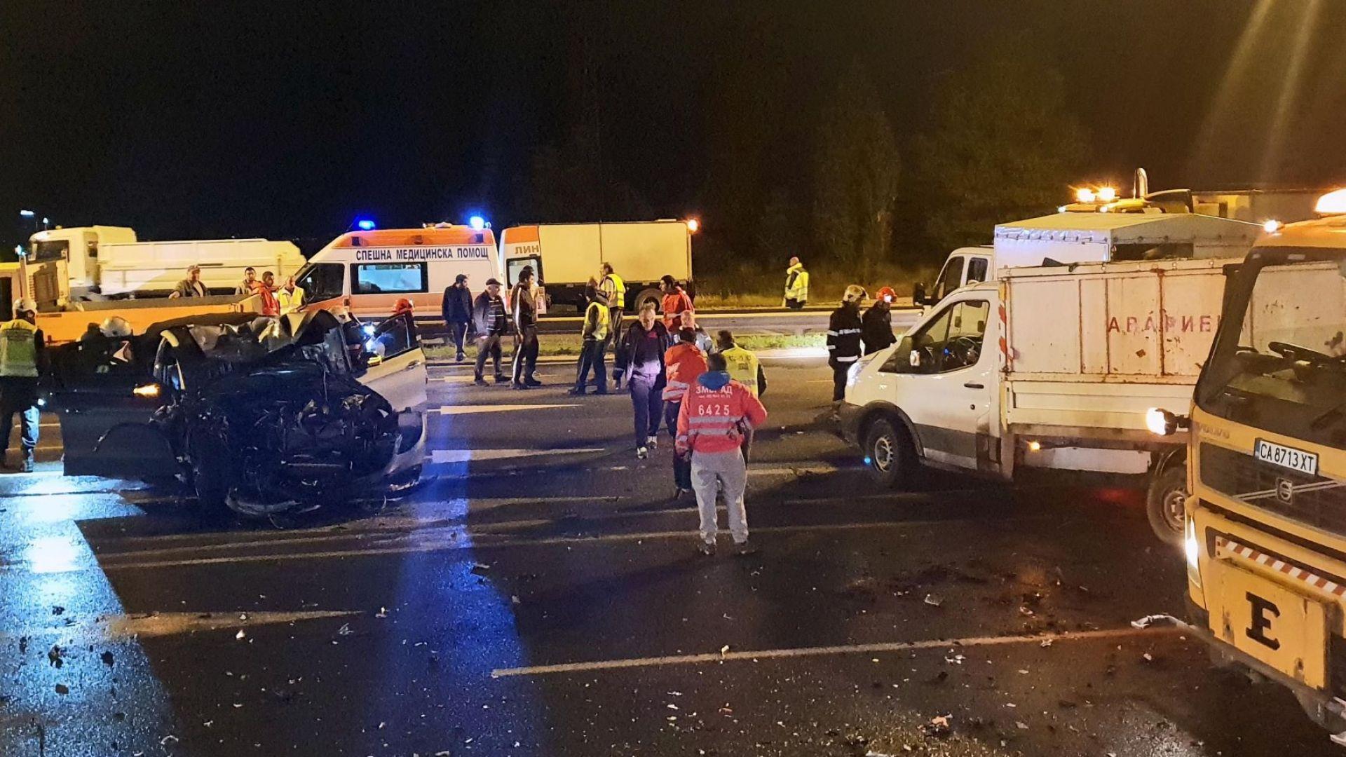 Дъщерята на известен бизнесмен е шофьорката, блъснала работници в София