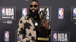 Брадата е играч №1 на НБА за първи път