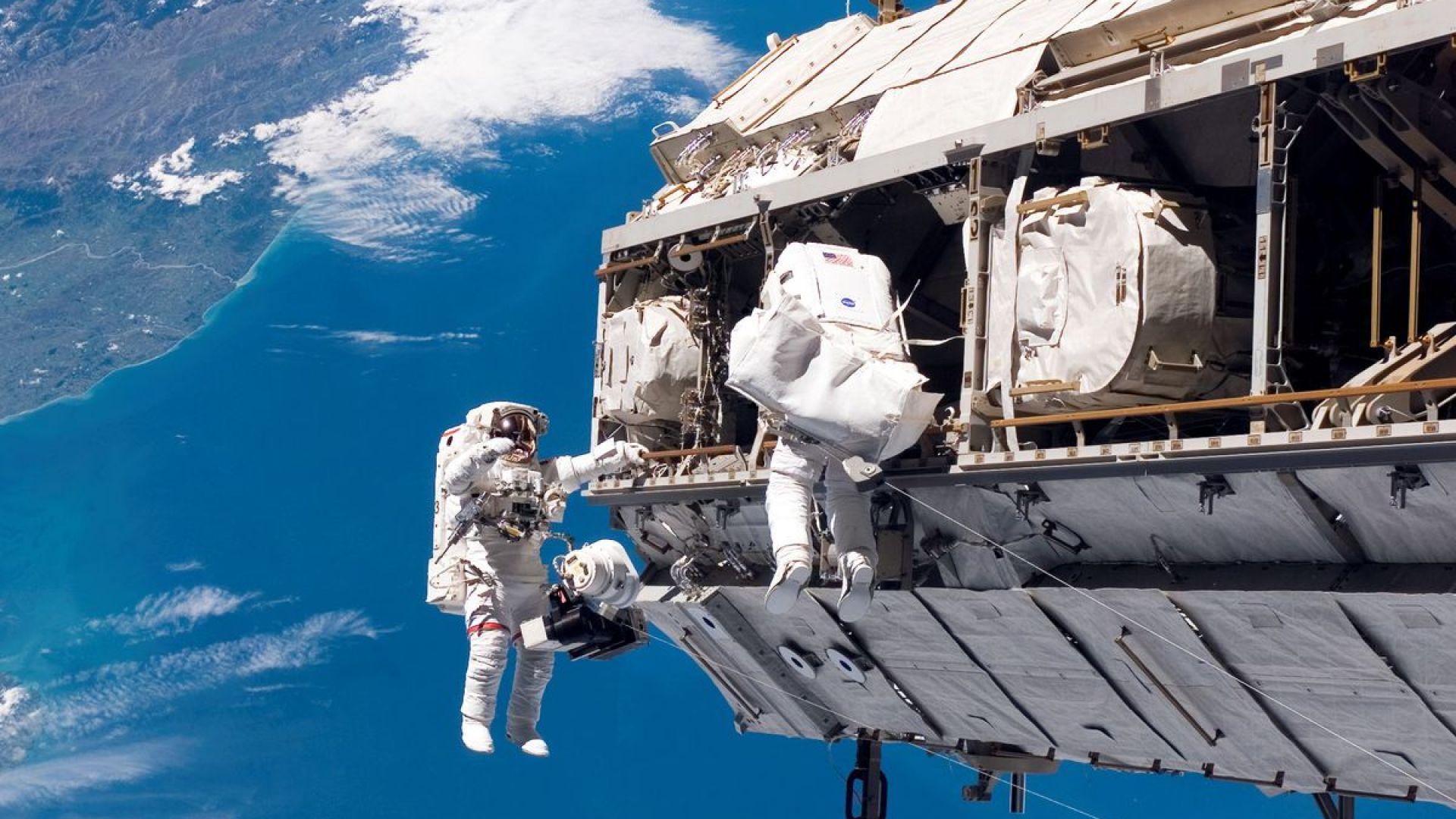 На борда на МКС е имало изтичане на въздух