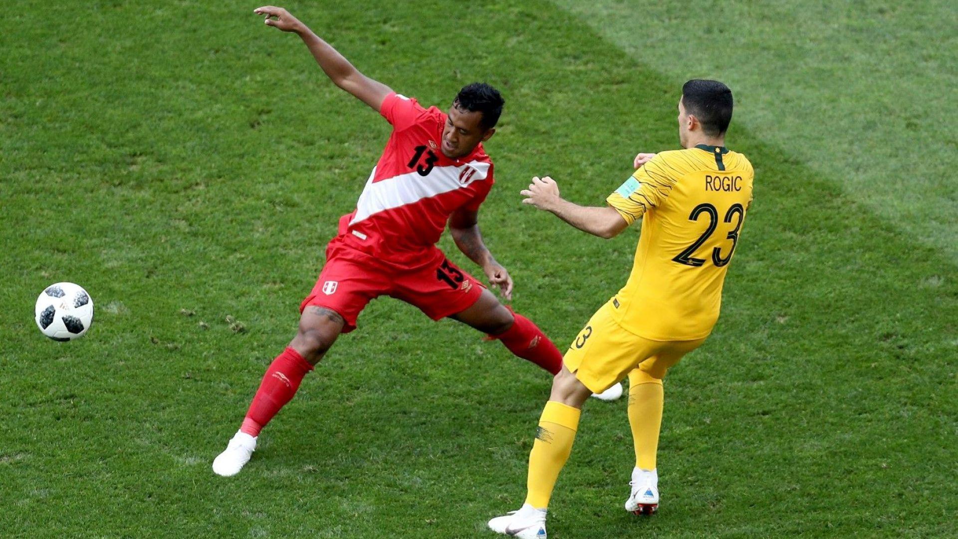 Австралия - Перу 0:2 (статистика)