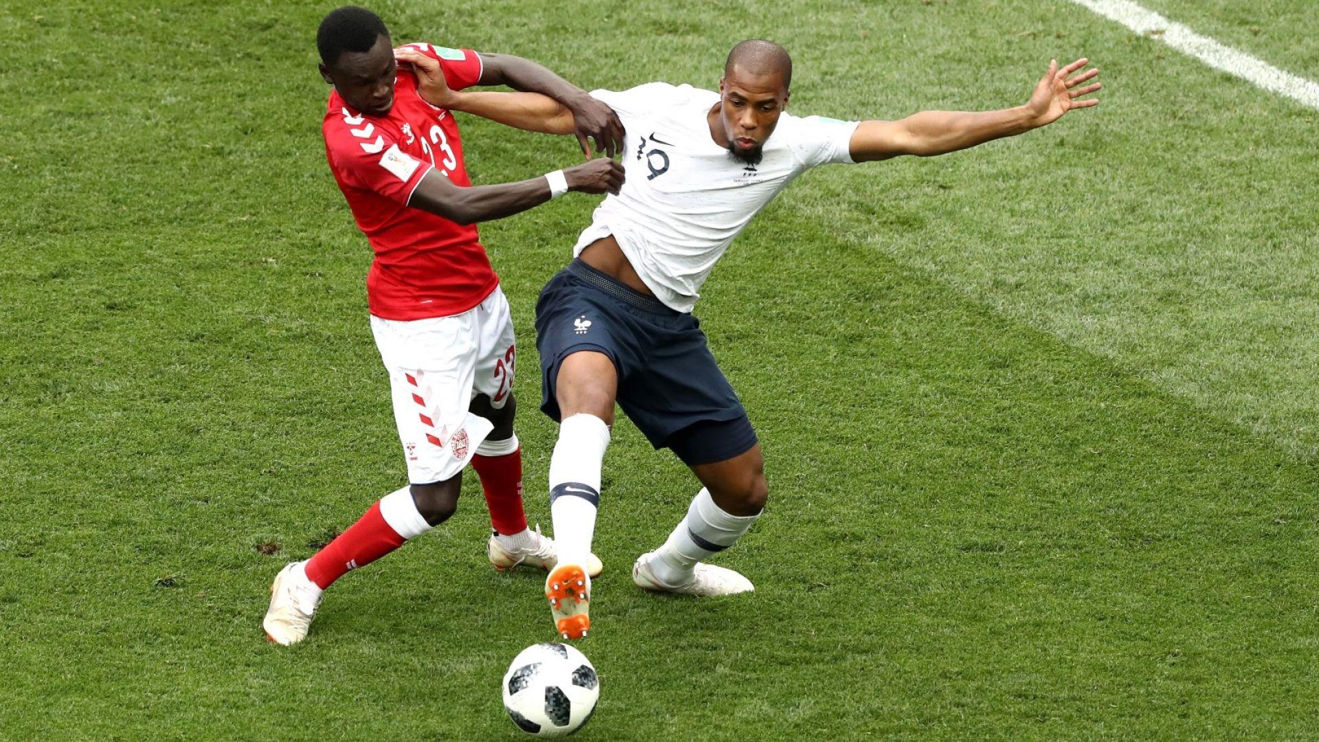 Дания - Франция 0:0 (статистика)