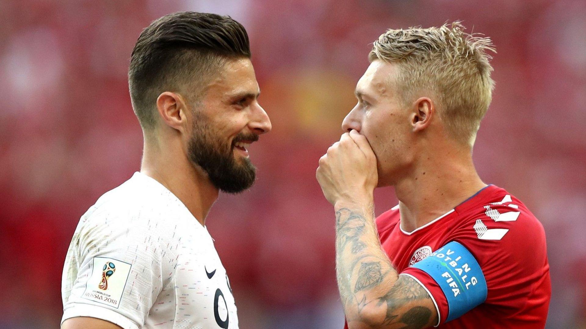 Франция и Дания прекрачиха напред ръка за ръка, Москва ги освирка