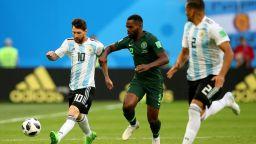 Нигерия - Аржентина 1:2 (статистика)