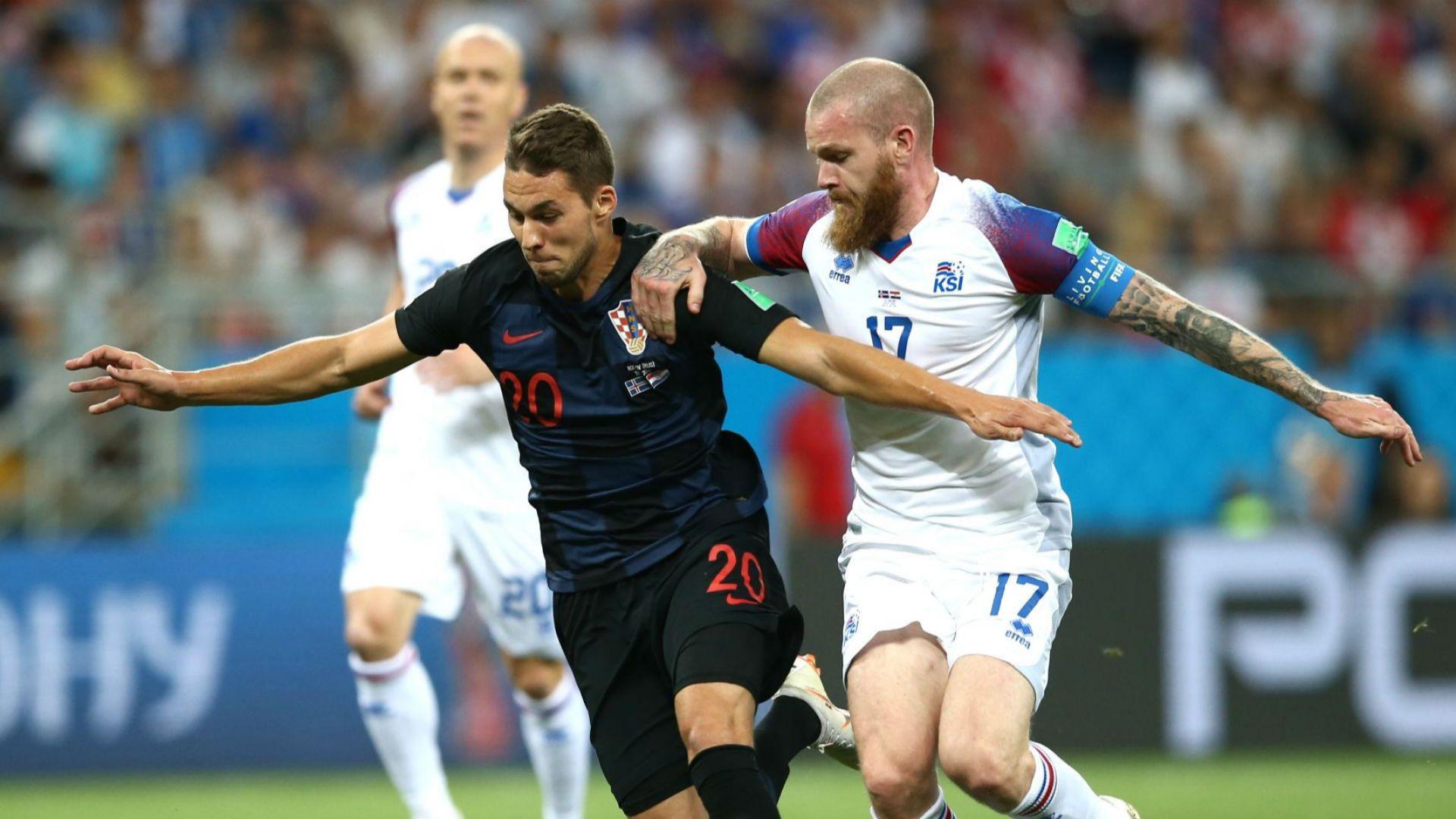 Хърватия - Исландия 2:1 (статистика)