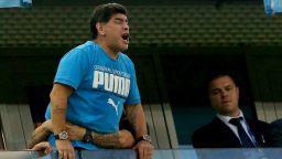 Диего Марадона в болница с кръвоизлив в стомаха