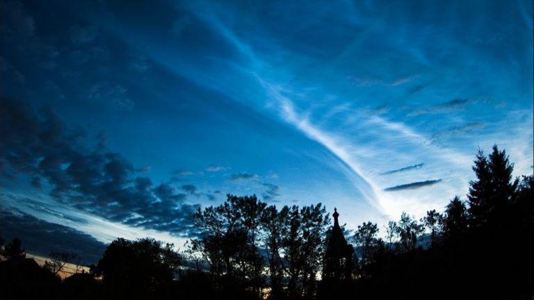 Сребристите облаци - най-красиви сред събратята си (снимки)