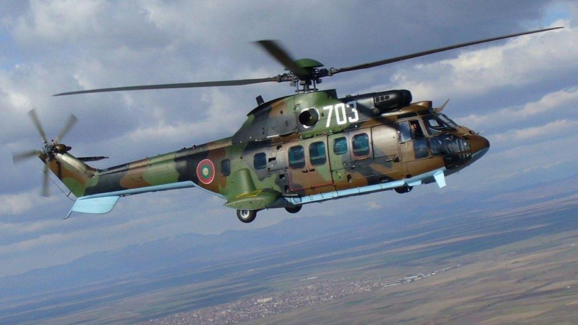 Тренировъчни полети ниско над София за въздушния парад на Гергьовден