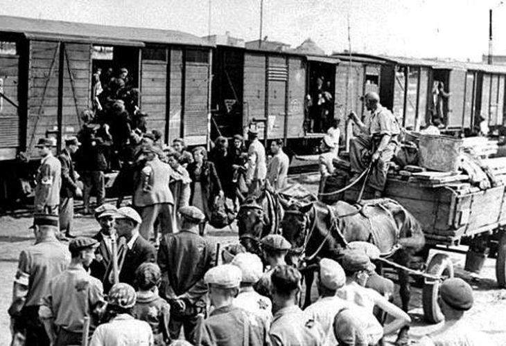 Депортация на евреи, 1943 г.