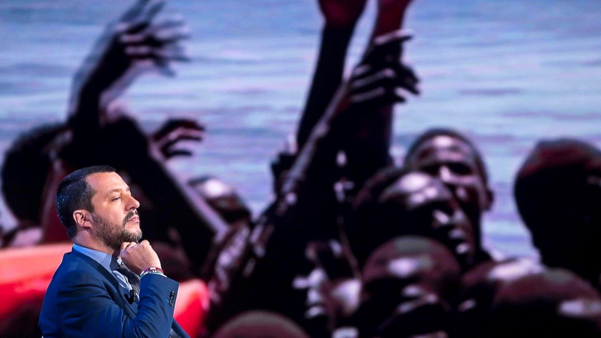 Матео Салвини: Франция се опита да върне непълнолетни мигранти в Италия