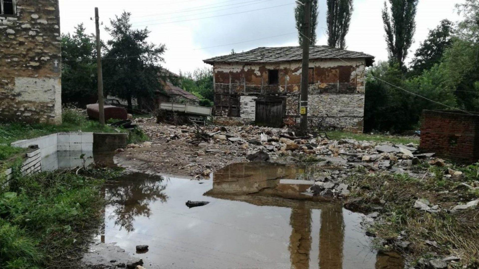 Частично бедствено положение в Ивайловградско