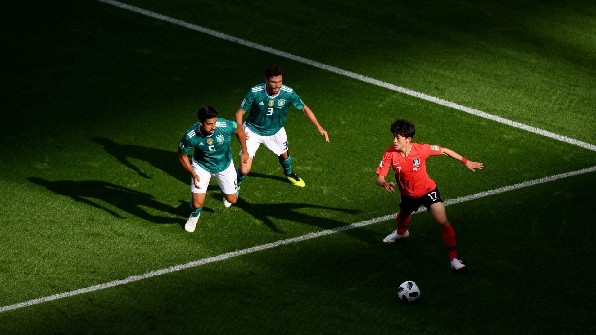 Германия - Южна Корея 0:2 (статистика)