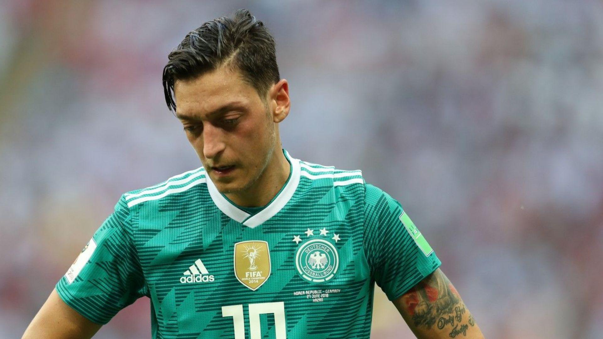 Мустафа Йозил призова сина си да напусне германския национален отбор