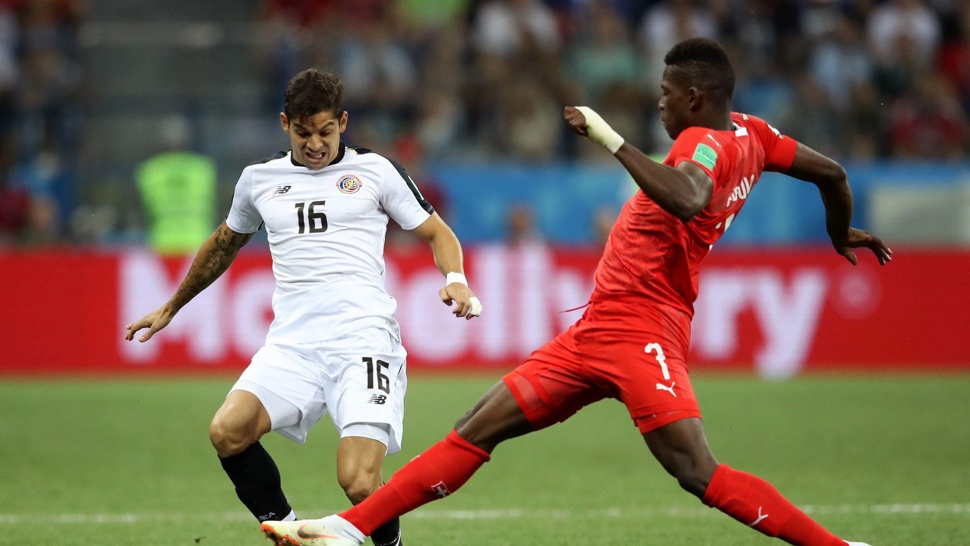 Швейцария - Коста Рика 2:2 (статистика)