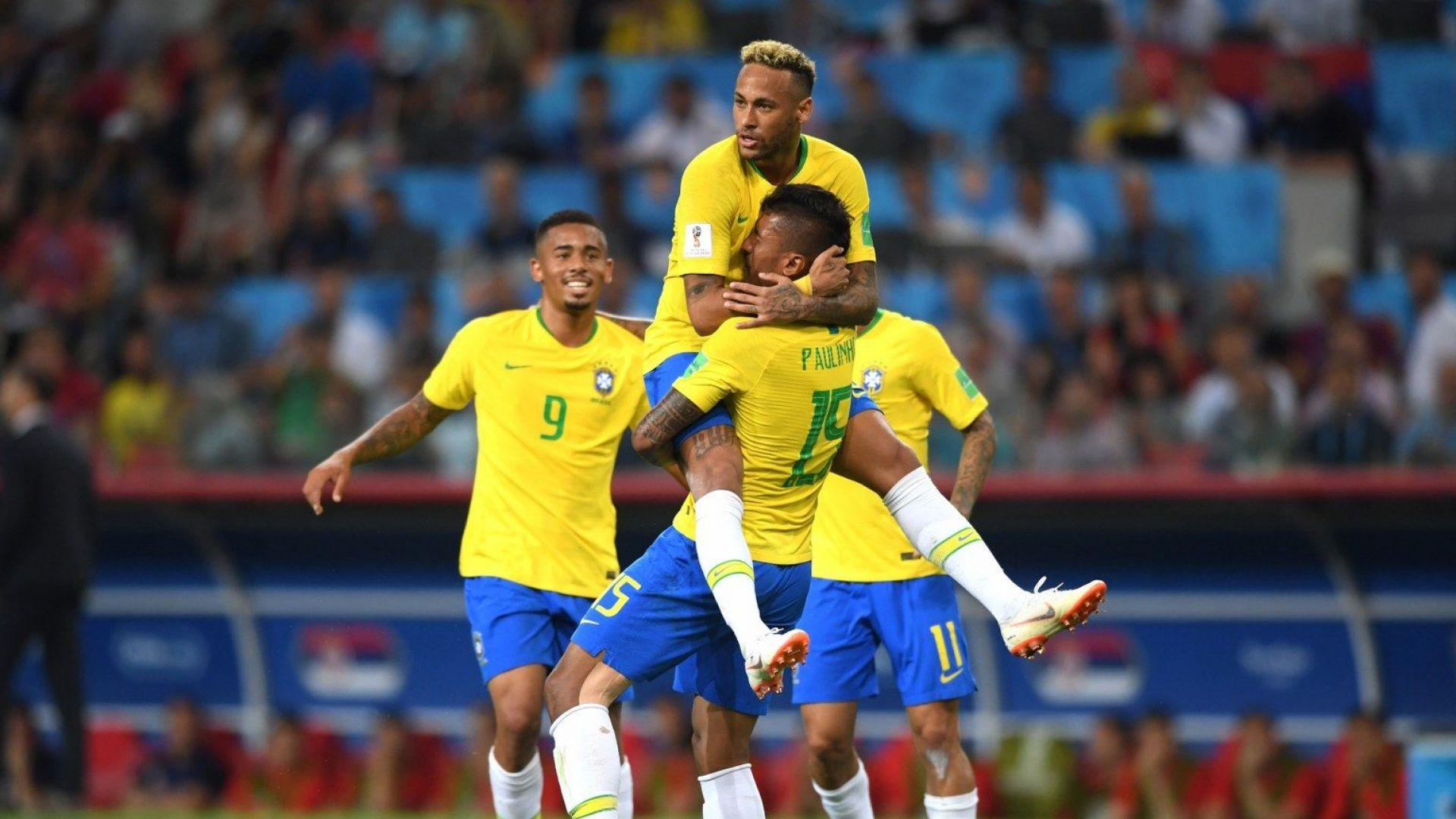 Бразилия би с рутина, натресе се на Мексико