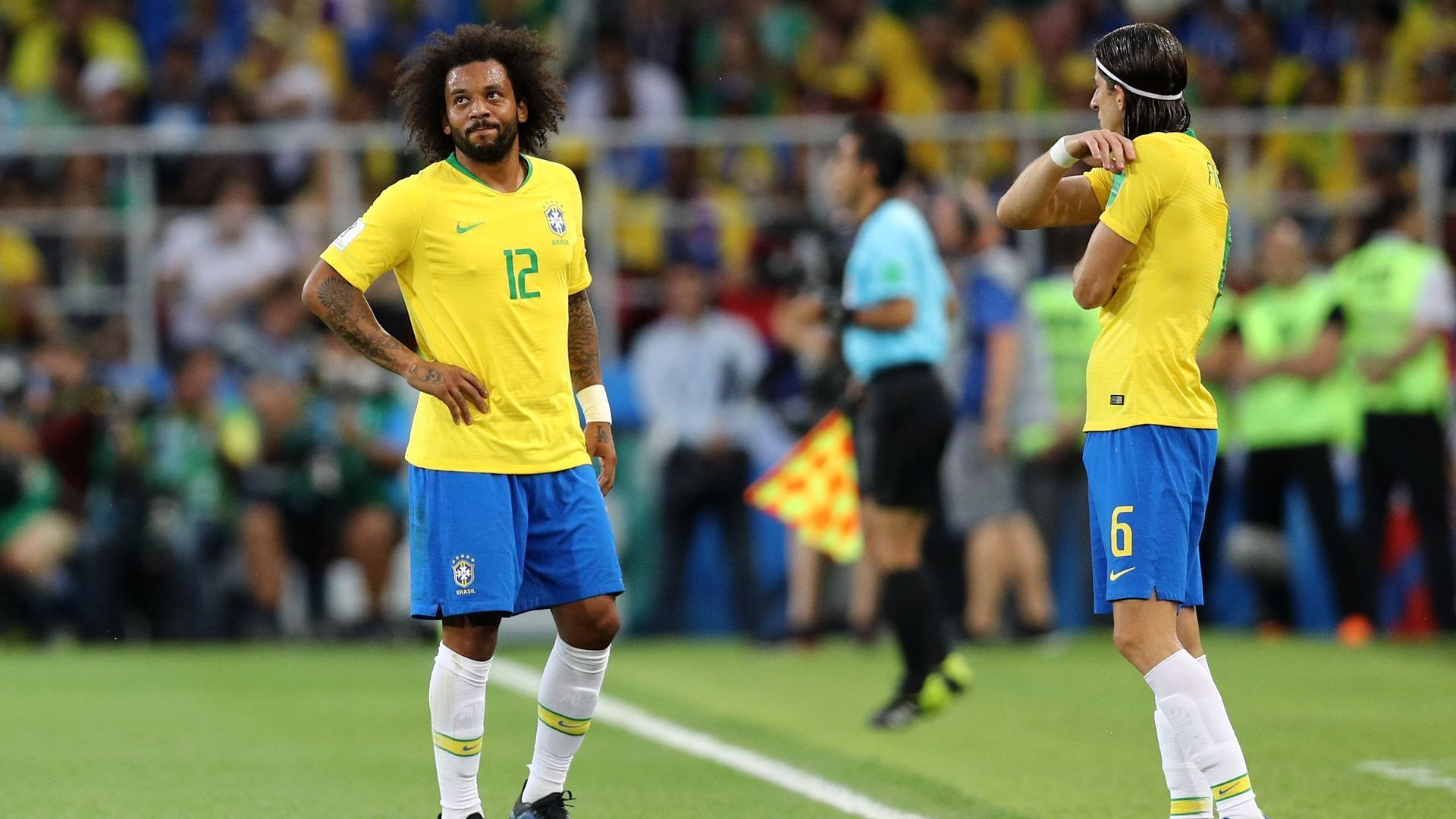 Бразилия си отдъхна за Марсело, травмата му е от неудобна възглавница