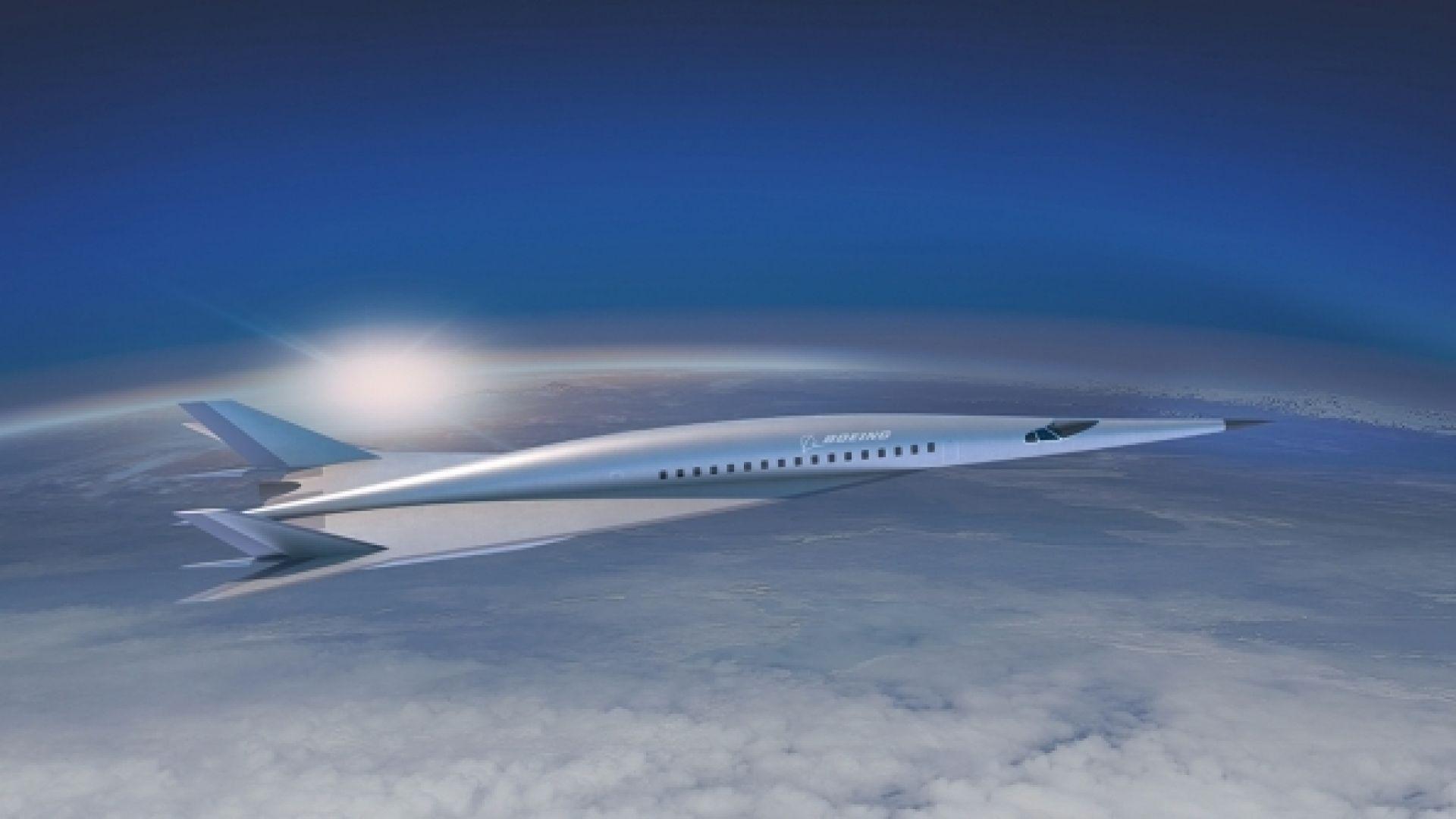 Boeing показа хиперзвуков авиолайнер