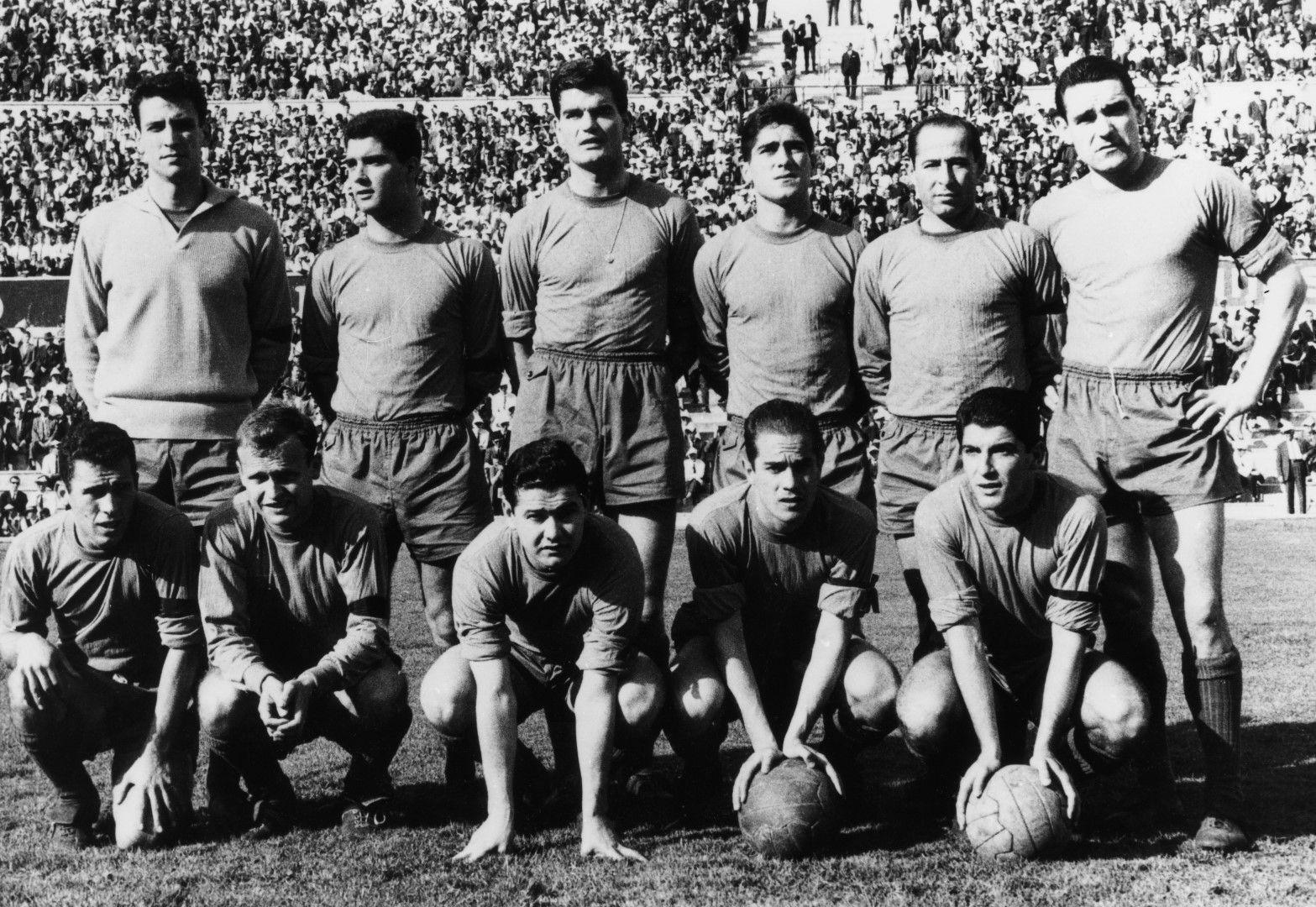 Много силният тим на Испания е фаворит през 1962 г., но се проваля.