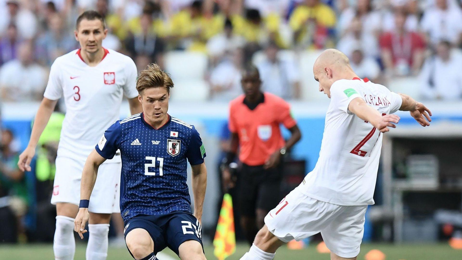 Япония - Полша 0:1 (статистика)