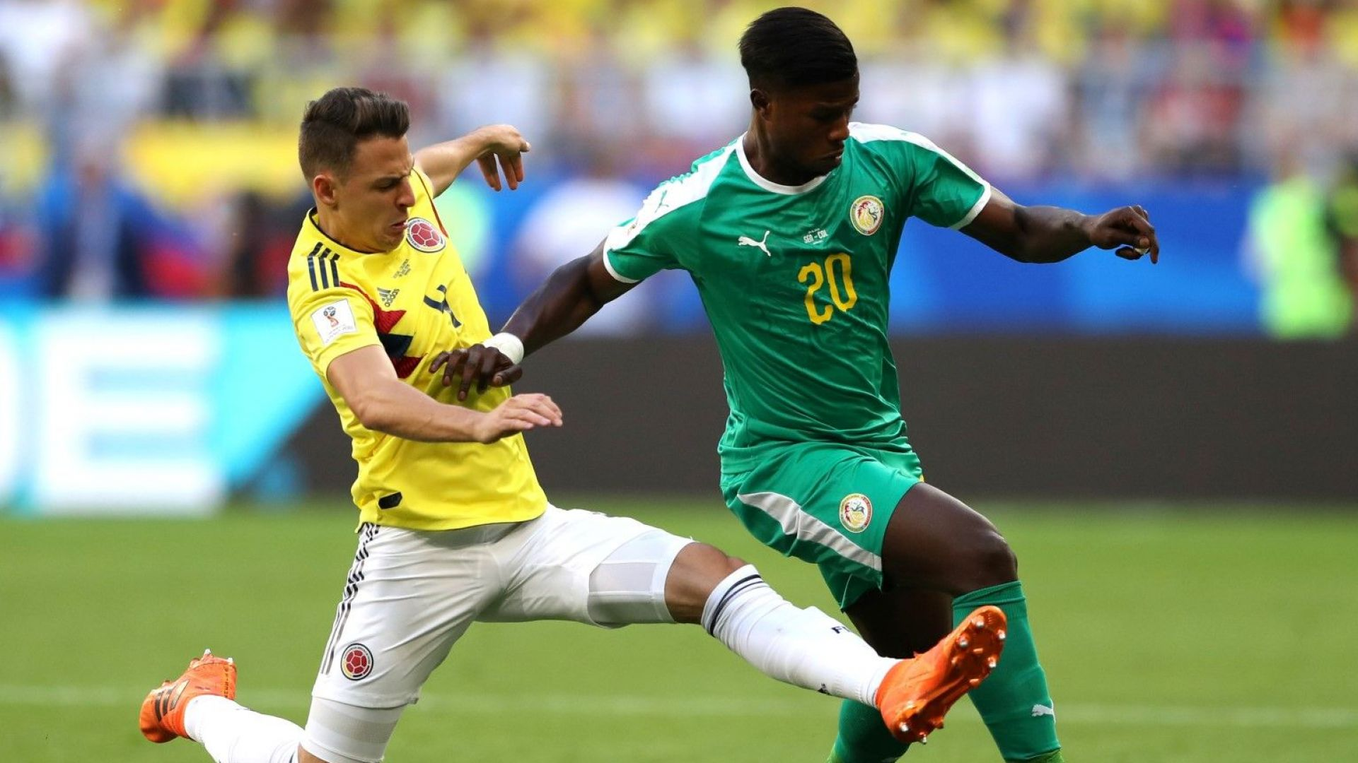 Сенегал - Колумбия 0:1 (статистика)