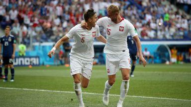 Япония загуби от Полша, но щастливо продължава напред