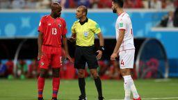 Панама - Тунис 1:2 (статистика)
