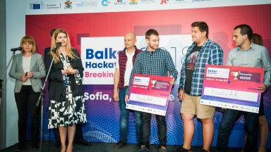 А1 награди победителите в първия балкански 24-часов хакатон